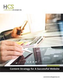 HCS Content Strategy for Websites